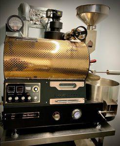 Coffee roaster from Northside Coffee, Local Coffee, Fresh Coffee, Huntsville Coffee