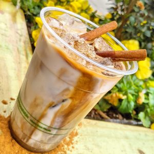 fresh roasted coffee in our signature dirty chai latte